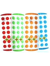 Gain 4 Push Out Ice Cube Trays Red Green Orange Blue occupation