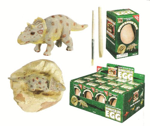 Toysmith Dino Egg Excavation Toy