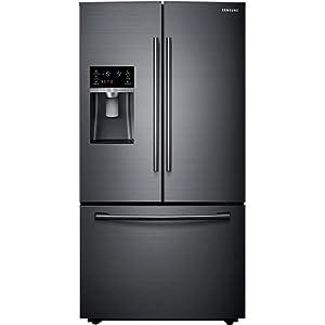 Samsung RF23HCEDBSG 23 cu. ft. Black Stainless Counter Depth French Door Refrigerator RF23HCEDBSG/AA