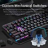 Redragon K555 Mechanical Gaming Keyboard with Blue