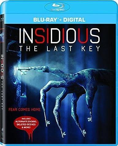 Amazon com: Insidious: The Last Key [Blu-ray]: Lin Shaye, Leigh