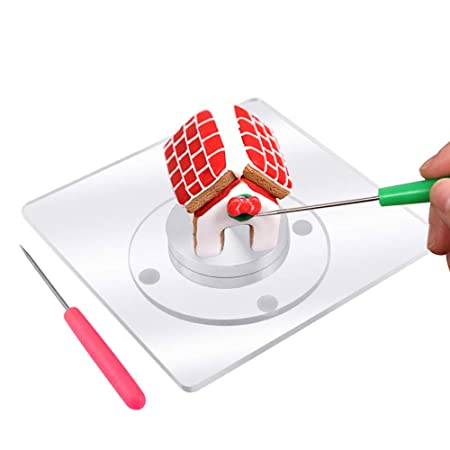Seafirst - Tocadiscos para decoración de cupcakes con alfombrilla ...