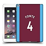 Official West Ham United FC José Fonte 2017/18 Players Home Kit Group 2 Hard Back Case for Apple iPad 3 / 4