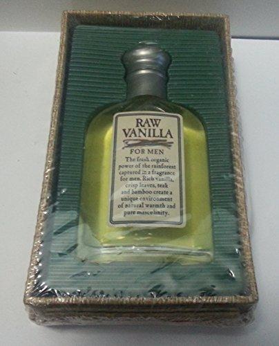 RAW VANILLA By Coty For Men COLOGNE SPRAY 2.5 OZ (Raw Vanilla Spray Cologne For Men)