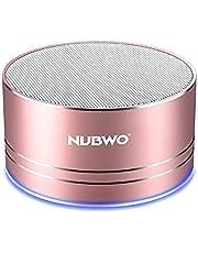 NUBWO Mini Wireless Bluetooth Speaker Portable - Black