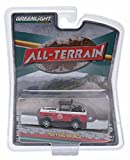 New 1:64 ALL-TERRAIN SERIES 2 - RED WHITE 1966 FORD BRONCO BAJA BRONCO Diecast Model Car By Greenlight