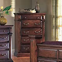 Progressive Furniture Torreon Chest, 38 x 18 x 54, Antique Pine