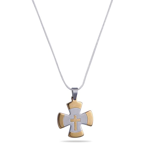 "Diovanni ""Protestant Holy Cross"" Christian Jewelry Pendant For Women(DIO_RENKW_PTCR) Necklaces at amazon"