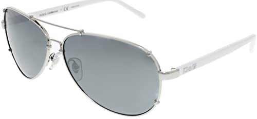 298964daf9b Image Unavailable. Image not available for. Colour  DOLCE   GABBANA D G 6047  White Silver 062 6G Sunglasses