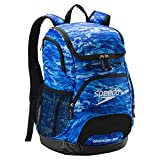 Speedo Printed Teamster 35L Backpack - Blue Oceans, One Size