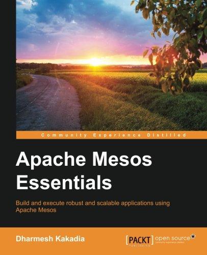 Apache Mesos Essentials pdf epub