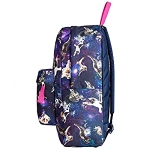 Jansport Superbreak School Backpack - Multi Astro Kitty - One Size