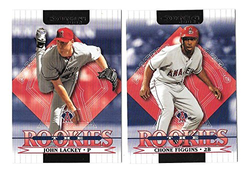 2002 Donruss Rookies - ANAHEIM ANGELS Team Set
