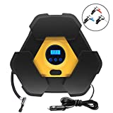 KENTLY Tire Inflator Air Compressor Electrical Air Pump Portable 12v for Car SUV Motor Bike Air Mattresses Airboat Airbed Aircushion Basketballs and Other Inflatables