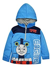 Thomas the Tank Engine Toddler / Little Boys' Quarter Zip Pullover Hoodie Blue (3T)