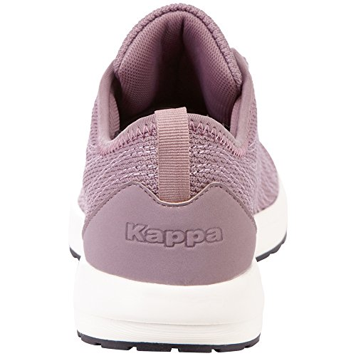 Kappa W Zapatillas Lila 2343 Mujer Morado para Offwhite Vivid rPRxr