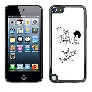 All Phone Most Case / Oferta Especial Duro Teléfono Inteligente PC Cáscara Funda Cubierta de proteccion Caso / Hard Case Apple iPod Touch 5 // FUNNY - WEIRD - I KNOW YOU WANT IT
