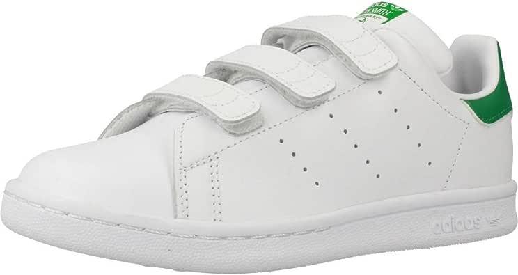 adidas Originals Stan Smith CF, Zapatillas Unisex Niños: Amazon.es: Zapatos y complementos