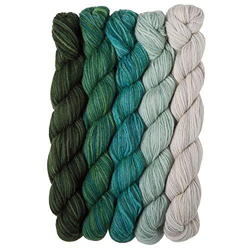 Merino Weight Fingering - Knit Picks Stroll Mini Packs Merino Sock Yarn (Spring Fields)