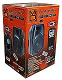Mr. Dj PM-4015MP3 15-Inch 3000 Watts Max Power