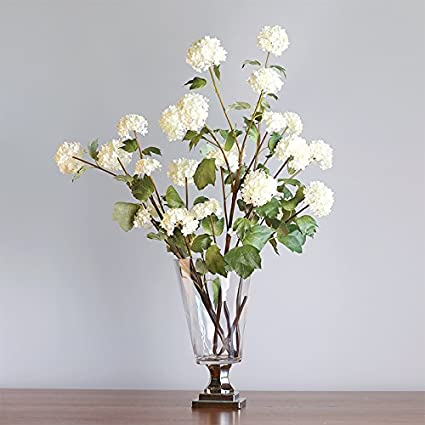 Amazon European Luxury High Foot Transparent Glass Vase Flower
