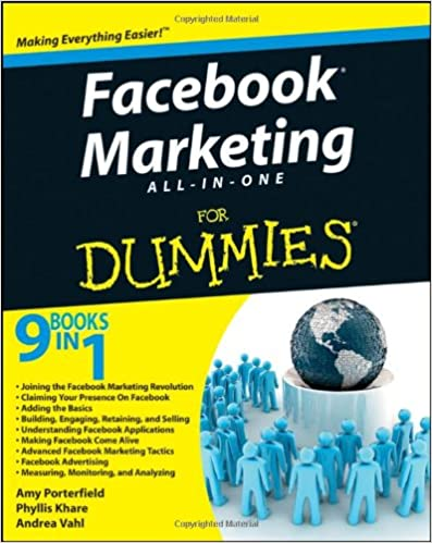 new pdf release facebook marketing all in one for dummies note