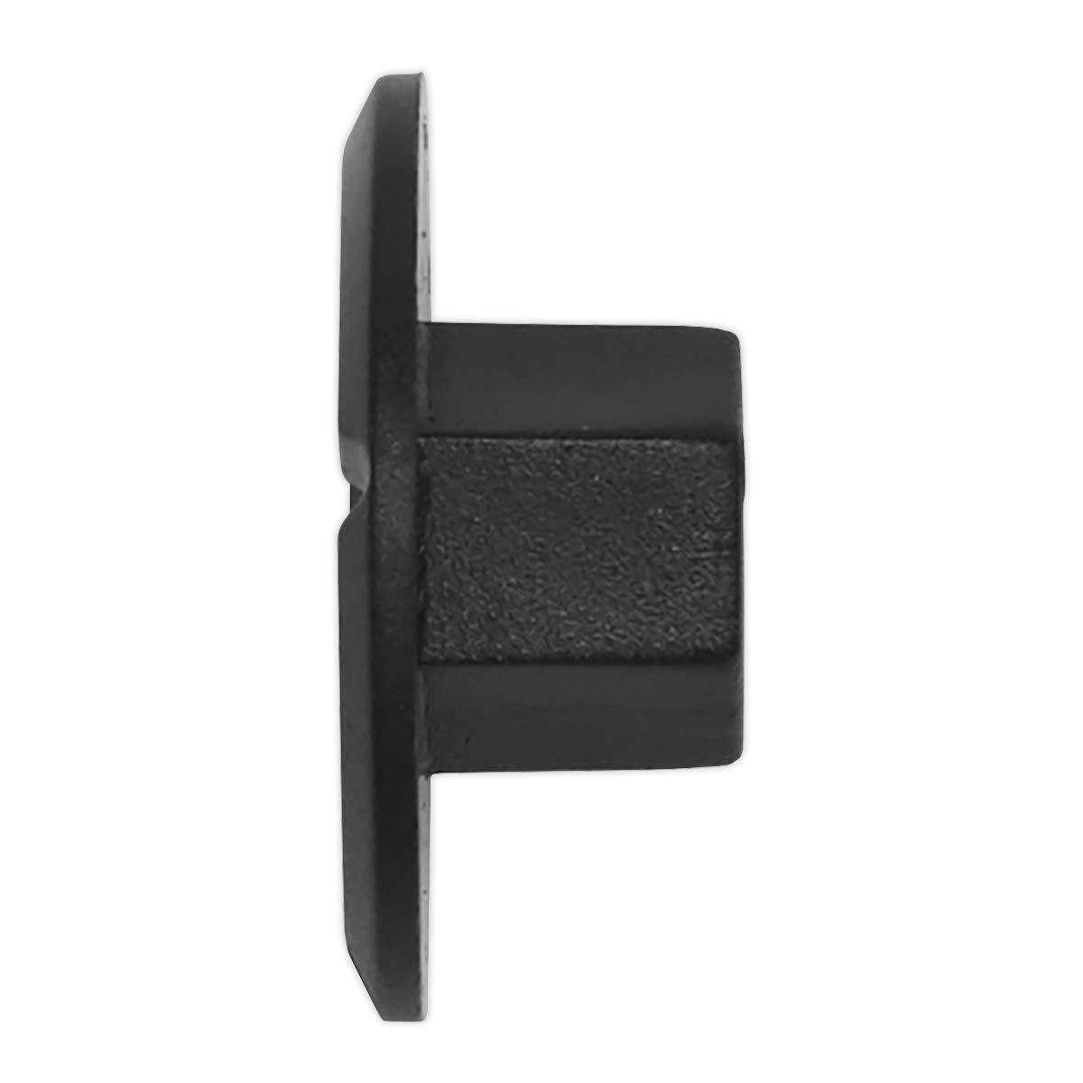 /Ø25mm x 10mm Mercedes-Pack of 20 Black Sealey TCLN2510 Locking Nut