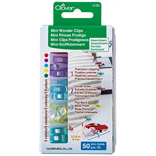 Mini Wonder Clips Assorted Colors
