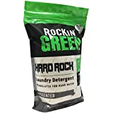 Rockin' Green Natural HE Powder Laundry Detergent for Hard Water, Perfect for Cloth Diapers, 90 Loads, Unscented, 45 oz ($0.22/load)