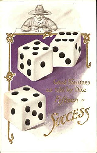 Success - Dice Casinos & Gambling Original Vintage Postcard from CardCow Vintage Postcards