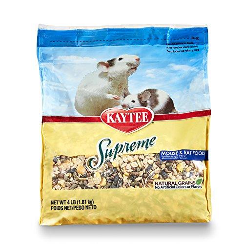 Kaytee Supreme Mouse and Rat Food, 4-lb bag by Kaytee