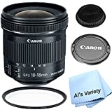Canon EF-S 10-18mm f/4.5-5.6 IS STM Lens Kit For For Canon DSLR Cameras