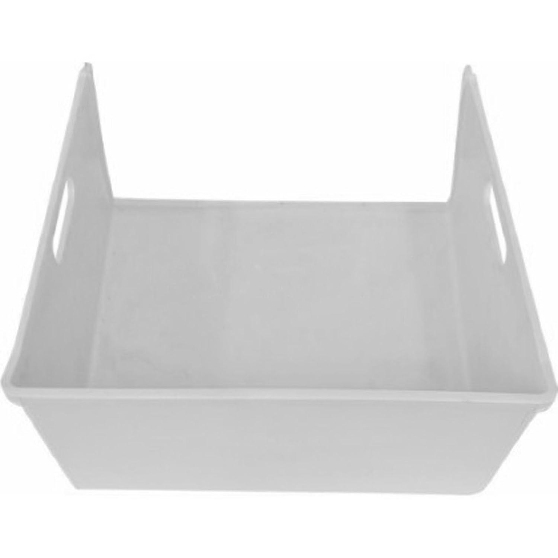 Spares2go blanco medio cajón cesta para Indesit frigorífico ...