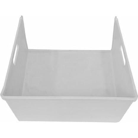 Spares2go blanco medio cajón cesta para Hotpoint frigorífico ...
