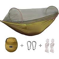 İçerisi ve dışarısı G4FREE taşınabilir ve katlanabilir kamp Hamak Cibinlik Hamaklara çadır kapasite 400 lbs Backyard…