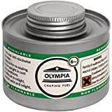 12X Olympia Liquid Chafing Fuel 6 Hour Catering Tin Burn Warmers