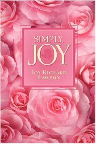 Book Simply, Joy by Joy Richard Lawson (2003-01-10)