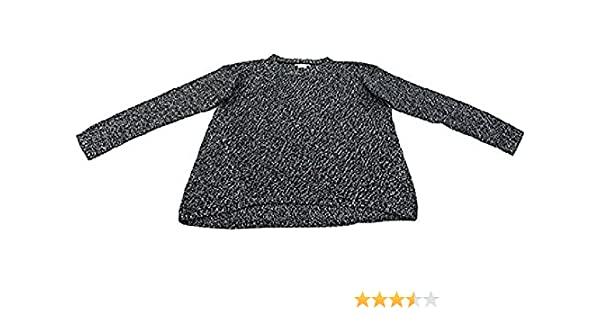 8ed48d56a9 Philosophy Ladies Long Sleeve Pullover Sweater Blackbird Ivory at Amazon  Women s Clothing store