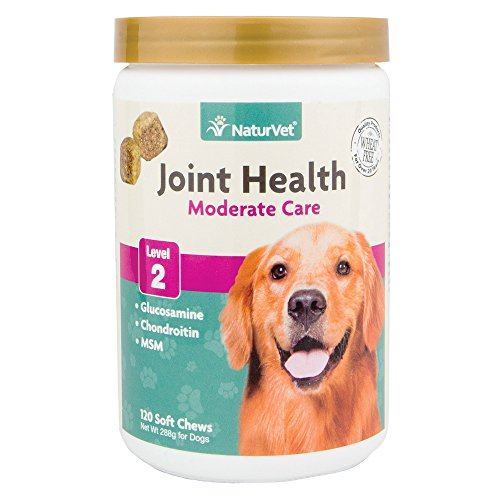 NaturVet Joint Health Level 2 Soft Chew Dog Supplement, 10 oz.