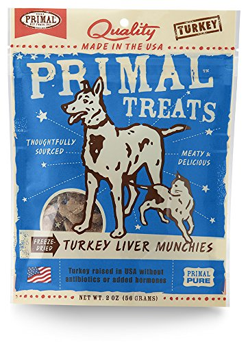 Treats Liver Turkey - Primal Turkey Liver Munchies