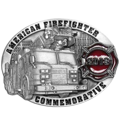 Siskiyou Gifts 2013 Firefighter Commemorative Buckle - AFF2013E
