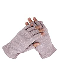 Summer Driving Gloves Half Finger Screen Touch Women Men Breathable Cotton UV Sun Protection Motorcycle Fitness Cycling Driving Gloves Ladies Lightweight Antislip Fingerless Touchscreen Gloves