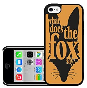 What Does The Fox Say iPhone 5c Hard Case