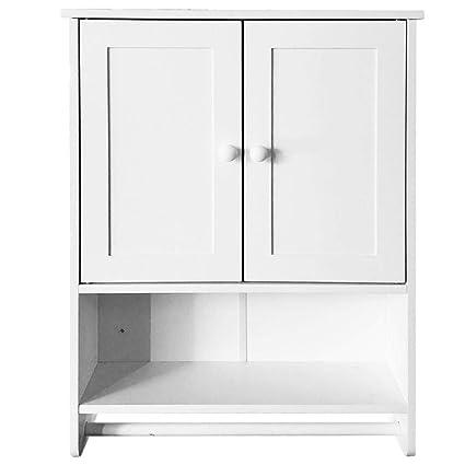 Amazon Gati Way White Wall Mount Bathroom Cabinets Shutters