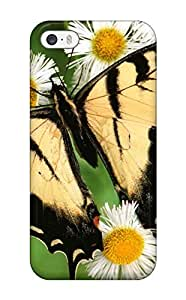 Premium Tiger Swallowtail Butterfly Back Cover Snap On Case For ipod touch5