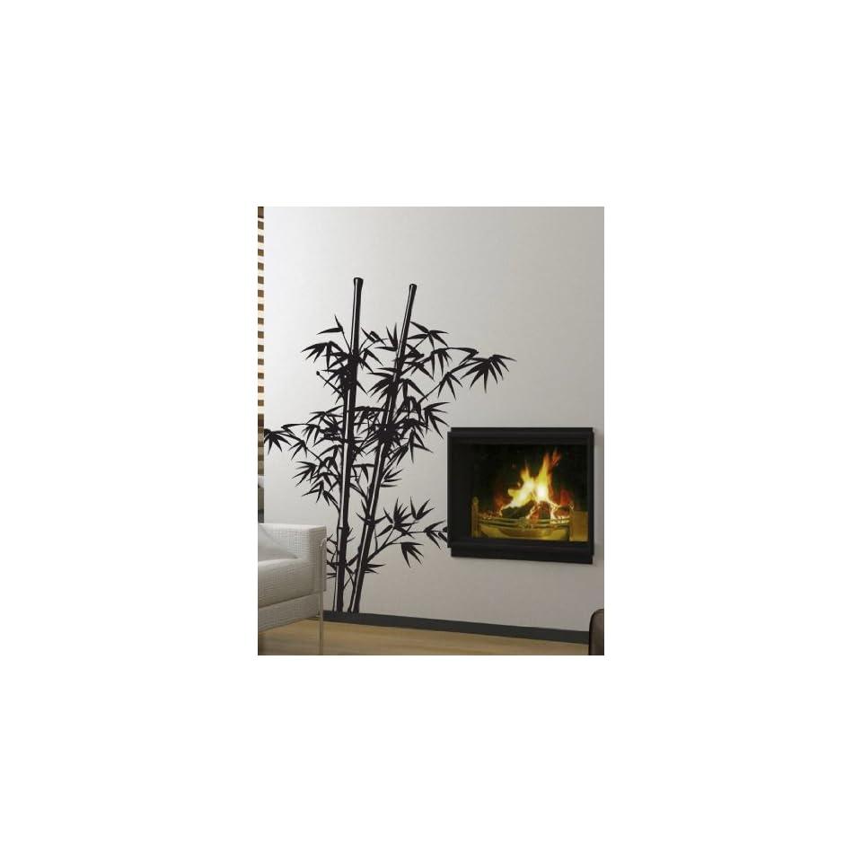 Vinyl Wall Art Decal Sticker Asian Decor Chinese Bamboo Tree 7ft BIG #332
