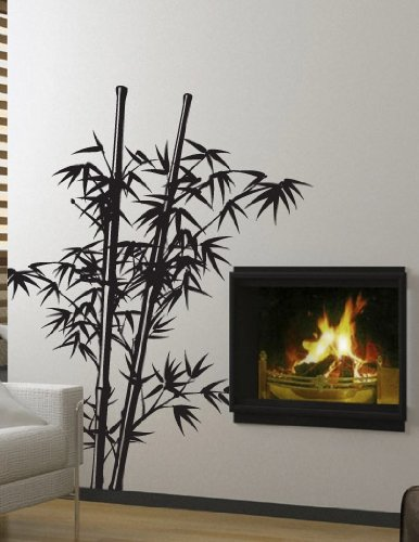 Amazon.com: Vinyl Wall Art Decal Sticker Asian Decor Chinese Bamboo Tree  7ft BIG #332: Home U0026 Kitchen
