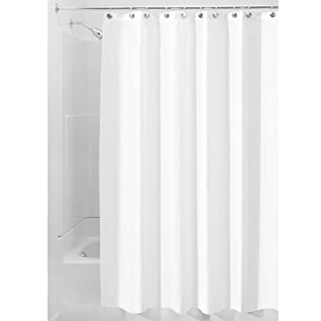 Amazon.com: InterDesign Water Proof Mold And Mildew Resistant Fabric Shower  Stall Curtain, 54 Inch By 78 Inch, White: Home U0026 Kitchen