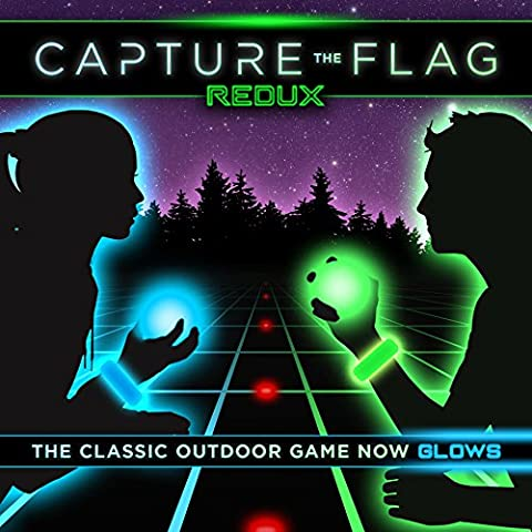Capture the Flag REDUX - a Nighttime Outdoor Game for Youth Groups, Birthdays and Team Building - Get Ready for a Glow in the Dark (Gears Of War Mission)