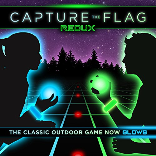 Capture the Flag REDUX - a Nighttime Outdoor Game for Youth Groups, Birthdays and Team Building - Get Ready for a Glow in the Dark Adventure Paintball Marker Players Kit